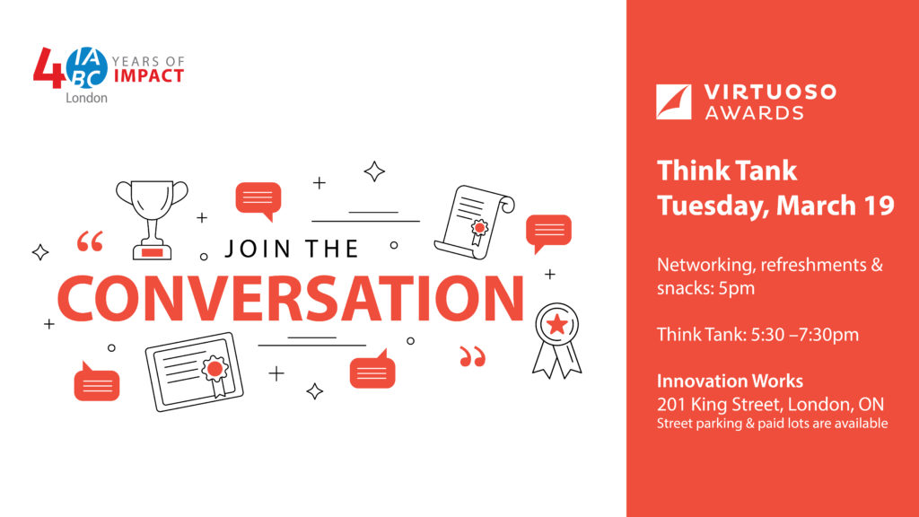 Join the conversation at the Virtuoso Awards think-tank on March 19, 2019