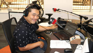 Chris dela Torre at CBC London