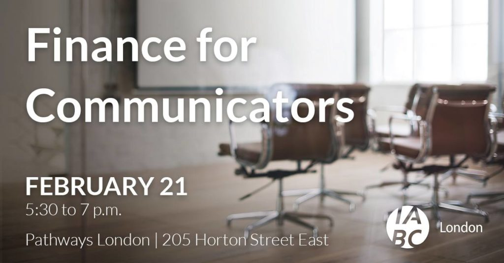 Finance For Communicators - Feb. 21, 2018